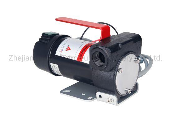 High Quality and Big Flow DC Fuel Transfer Pump, DC Diesel Pump