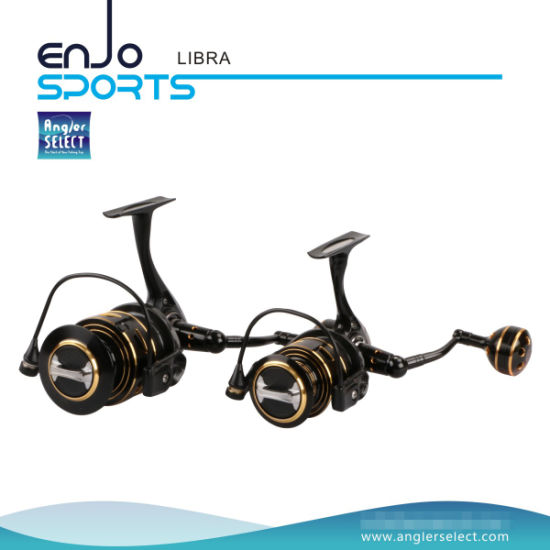 High Gear Ratio Fresh / Saltwater Spinning Reel (Libra 200)
