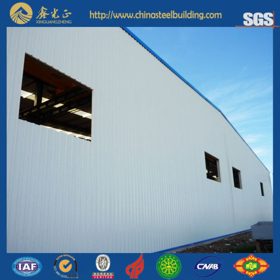 Prefabricated Steel Structure Storage Warehouse (SSW-14302)