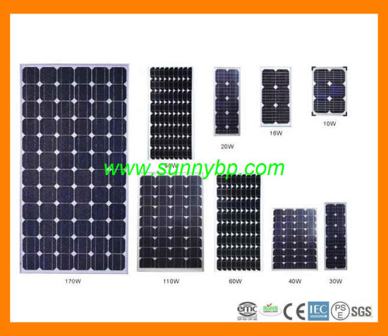 2015 New Design Solar Panel with CE-IEC-ISO 10W-20W-50W-100W Mono-Poly pictures & photos
