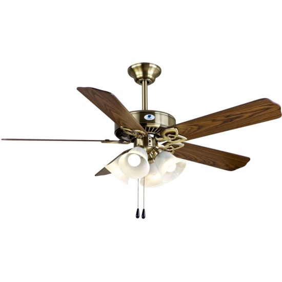 "52"" Ceiling Fan with Lighting Ef200s (N) -52 (A)"