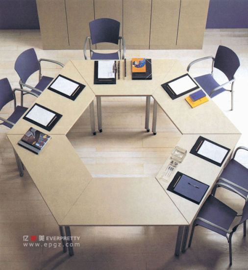 China Hot Sale Cheap Seater MDF Oval Shape Office Conference - 12 seater conference table