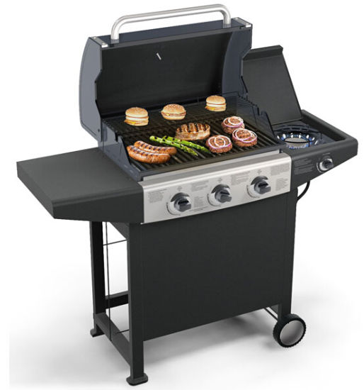 4 Burner Outdoor Gas BBQ Barbecue Grill with CE