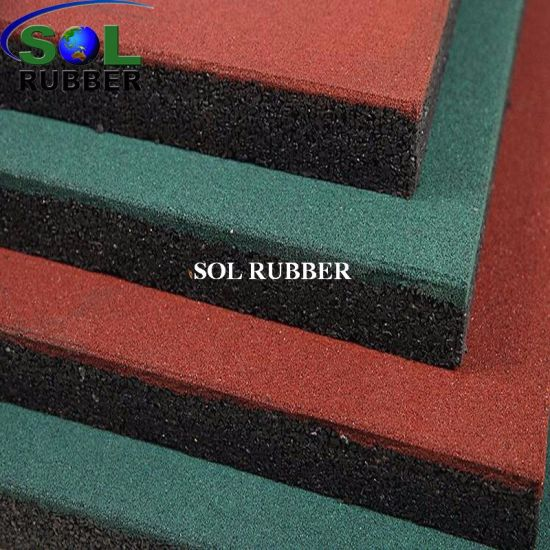 CE Certificated Anti UV Bright EPDM Rubber Floor Tile pictures & photos