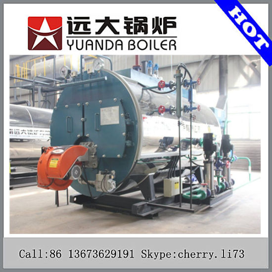 China Industrial Automatically Hot Oil Boiler Gas Fired Thermal Oil ...