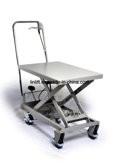100kgs Hydraulic Scissor Lift Aluminium Table Truck (BSA10)