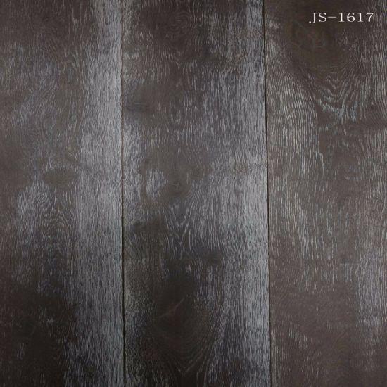 China Dark Color Engineered Oak Wood Flooringparquet Flooring