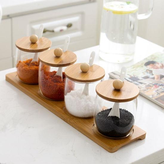 China Spice Storage Jar Glass Spice Bottle Jar Kitchen Jar Spice Jar Set China Kitchen Jar And Spice Storage Jar Price