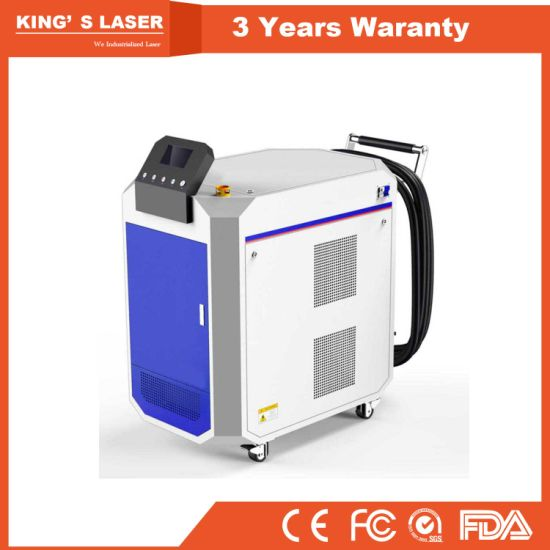 train aircraft track parts metal rust removal laser cleaning machine for sale