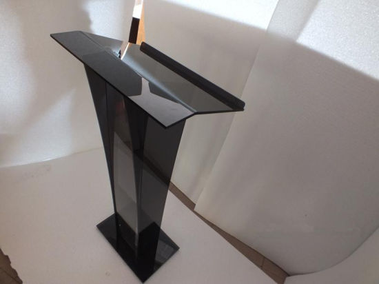 Assembled Church Acrylic Podium Lectern Pulpit Plexiglass Lucite Clear pictures & photos