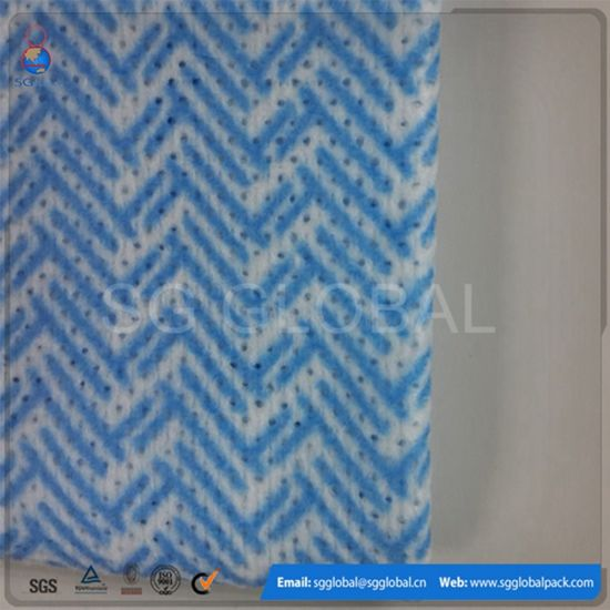 Wholesale Kitchen Use Spunlace Non Woven Wipe pictures & photos