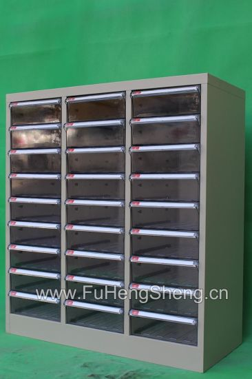 Office Filing Cabinet Metal Plastic Drawer Cabinet 27 Drawers