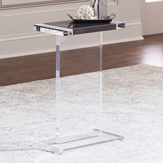 Fashion Home Furniture Custom Lucite Acrylic Tea Table Clear Coffee Modern