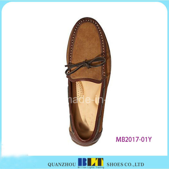 Hot Sale Brand Leather Boat Shoes pictures & photos