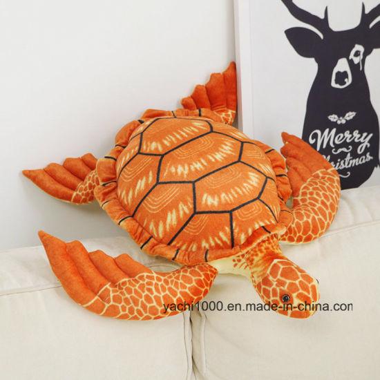 Wholesale Soft Plush Stuffed Turtle Sea Animal Kids Toy