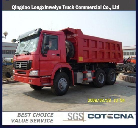 Qingdao Sinotuk 6X4 25t 371HP HOWO Dump Truck