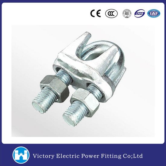 Transmission Line Fitting Stainless Steel Stainless Steel Guy Clip/Wire Rope Clamp pictures & photos