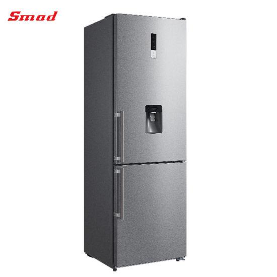 Bottom Freezer Double Door Household Refrigerator with Water Dispenser