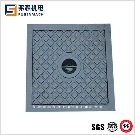 En124 A15 Grey Cast Iron Manhole Cover (400*400mm) pictures & photos
