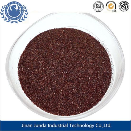 30/60 Mesh Blasting Media of Garnet Sand Abrasive Grit for Oil and Gas  Project Sandblasting