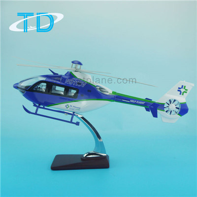 Helicopter Model Ec-135 Promotional Toys pictures & photos