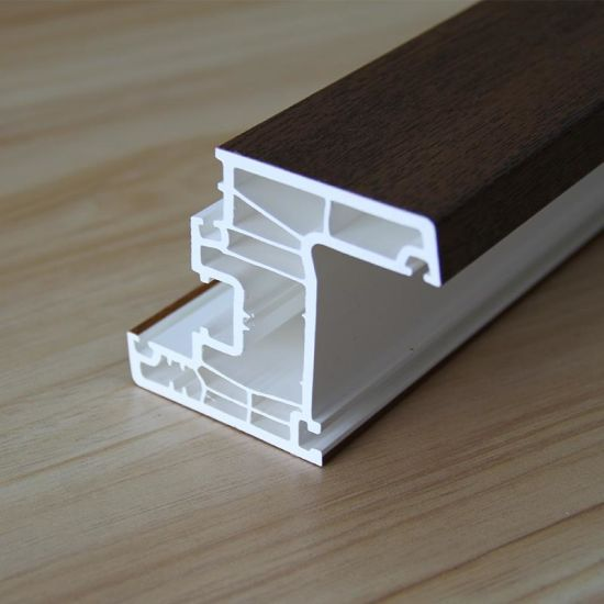 PVC Door Frame/Plastic Profiles for Windows pictures & photos