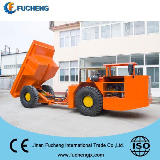 8 ton Automatic Diesel underground mining dump trucks for tunnel with DEUTZ engine