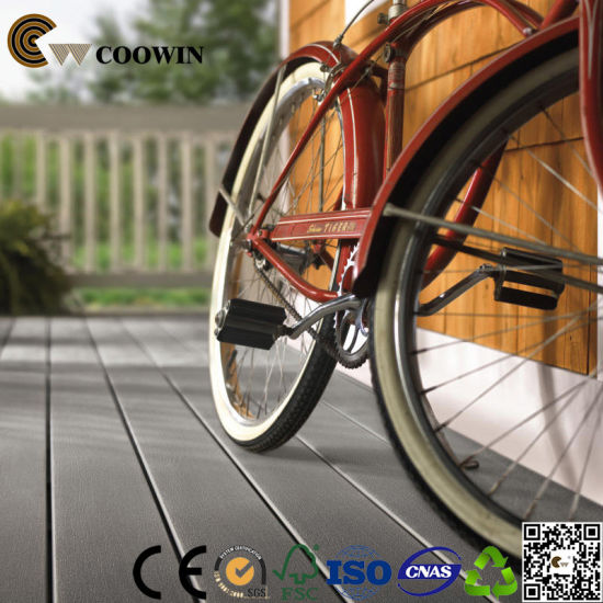 Crack-Resistant Wood Composite Floor PVC Outdoor Decking pictures & photos