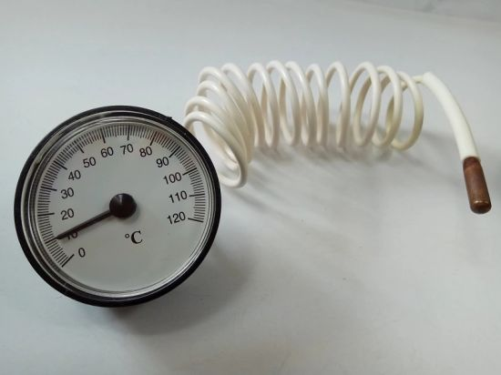 China Hot Water Boiler Temperature Gauge with Capillary Thermometer ...