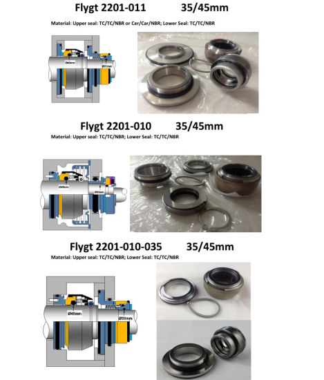 Mechanical Seal Flygt Pumps Seal 3085 pictures & photos