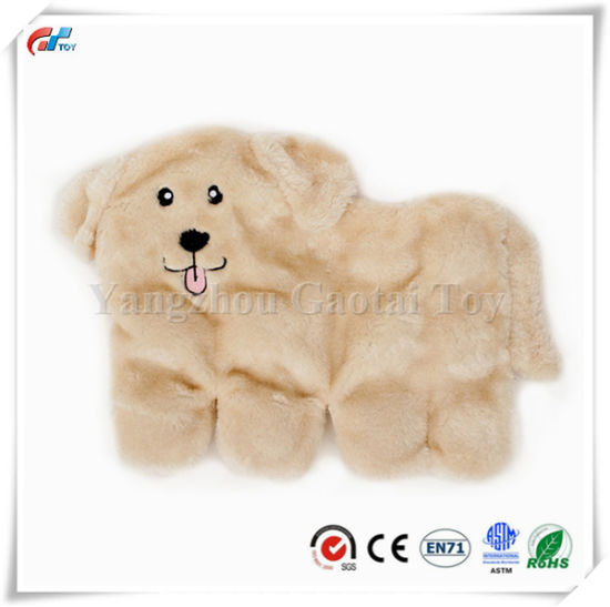 Squeakie Pup 11-Squeaker No Stuffing Plush Dog Toy