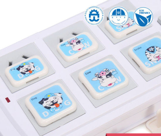 12 Zodiac Childproofing Child Safety Plug Socket Covers RoHS Certification