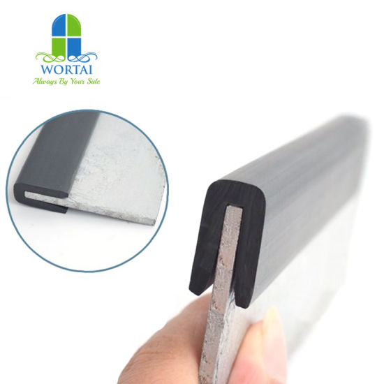 China Protect And Decorative The Edge Rubber Seal Strip