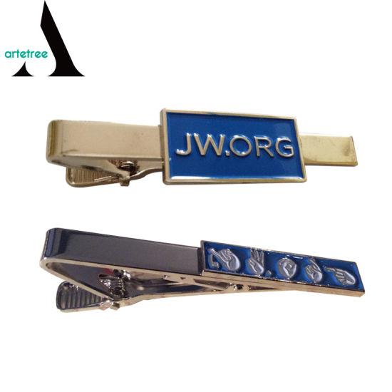 08790b65fd22 China Custom Jw Gifts Metal Jw. Org Asl Tie Clip - China Jw. Org Tie ...