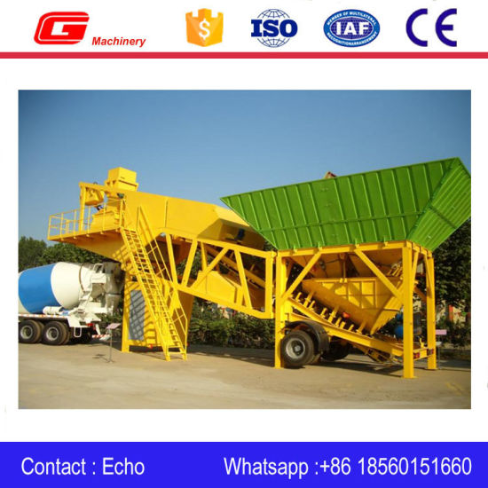 Yhzs40 Full Automatic Mobile Concrete Batch Plant From Shandong pictures & photos