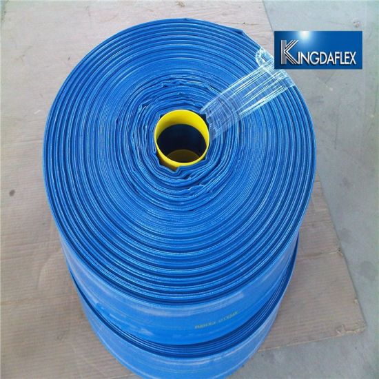 6 Inch Plastic Irrigation Agricultural PVC Layflat Water Hose