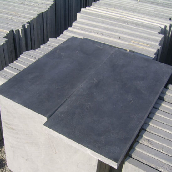 Bluestone Blue Limestone Cobblestone for Garden/Patio/Walkway Paving pictures & photos