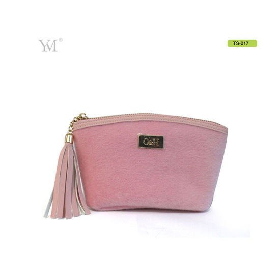 94c931f1f2 China Ladies Pony Fur Cosmetic Makeup Bags From Factory - China ...