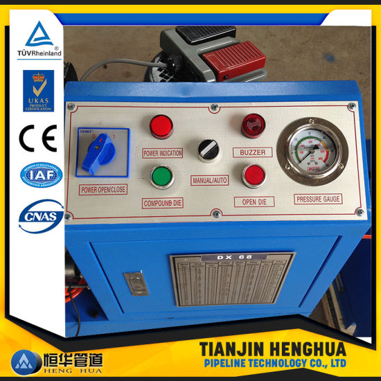 Ce Free Dies Quick Change Tool Hydraulic Hose Crimping Machine pictures & photos