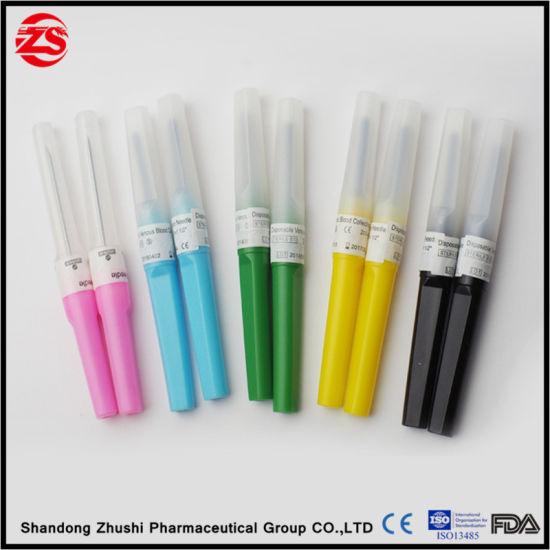 2017 Disposable Medical Multi Sample Blood Collection Bd Needle Manufacturer