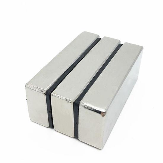 High Quality Square Shapes Rectangular Neodymium Magnet for Printer