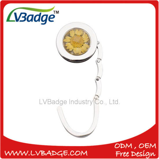 Zinc Alloy Bag Hanger with Stone Insert pictures & photos
