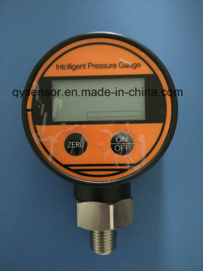 -15-0-100MPa Digital Vacuum and Pressure Gauge with LCD Display (QZP-108) pictures & photos