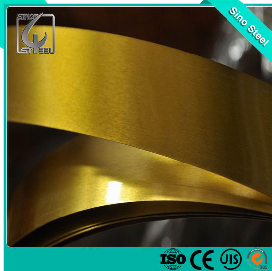 Golden Coated Tinplate Steel Coil /Strip