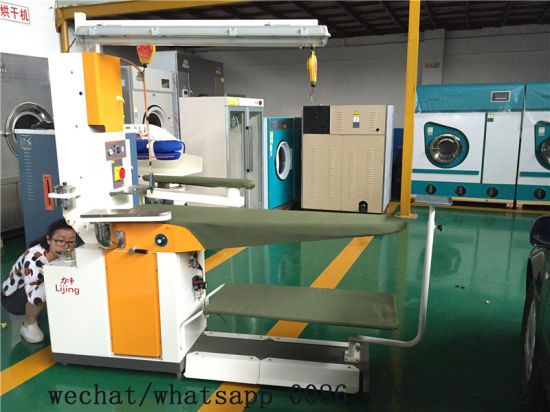 2017 Laundry Equipment Multi-Function Steam Ironing Table with Ce for Sales