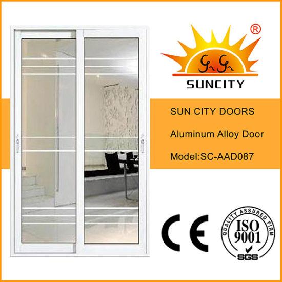 Aluminum Interior Kitchen Glass Doors and Windows (SC-AAD087)