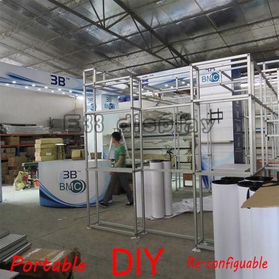 Flexible Exhibition Stands : China customized flexible reusable portable trade show
