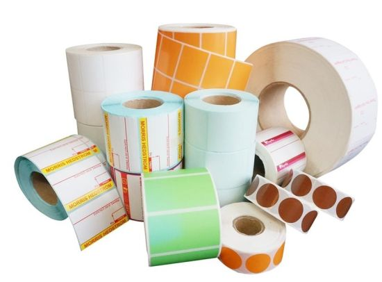 Self-Adhesive Sticker Label / Custom Sticker /Thermal Paper in Roll /Package Label