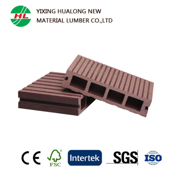 WPC Outdoor Deck Plastic Wood Floor Used for Swimming Pool (M20) pictures & photos