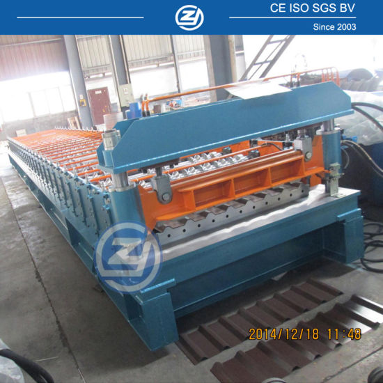 Steel Roofing Panels Corrugated Iron Tiles Cold Forming Machine/Rolling Forming Galvanizing Production Line Factory Price with ISO9001/Ce/SGS/Soncap
